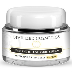 Moisturizing Apple Stem Cell Skin Cream with Hemp Helps to reduce wrinkles and fine lines