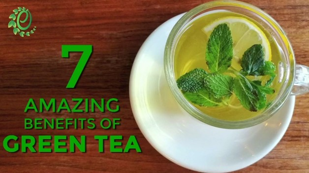Click Here to watch 7 amazing benefits of Green Tea