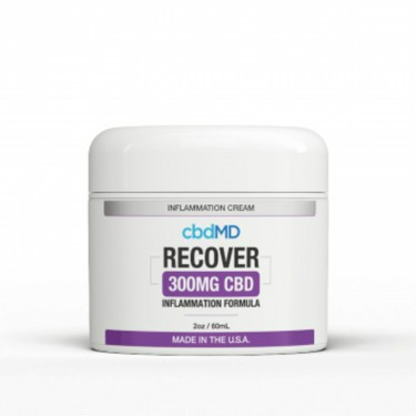 Enriched with CBD, Arnica, Vitamin B6, and MSM for a full profile of topical properties, cbdMD's CBD Recover Inflammation Cream was designed with one goal in mind: recovery.