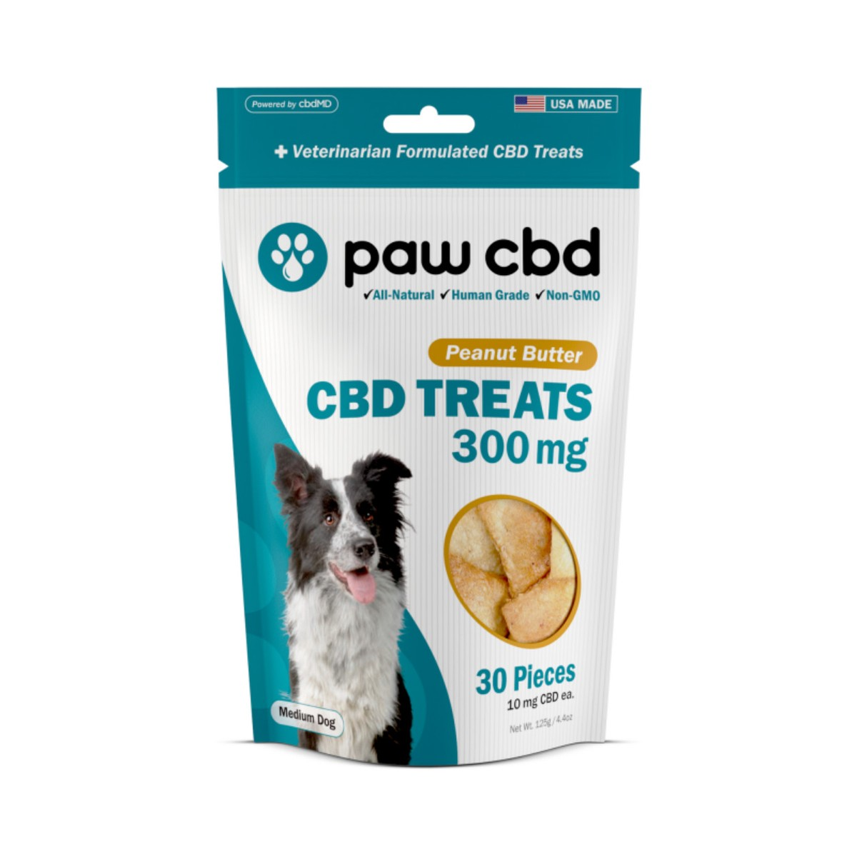 CBD Dog Treats - Reward your best friends with only the best in CBD Dog Treats: choose from delicious Peanut Butter, Baked Cheese, and Sweet Potato flavor.