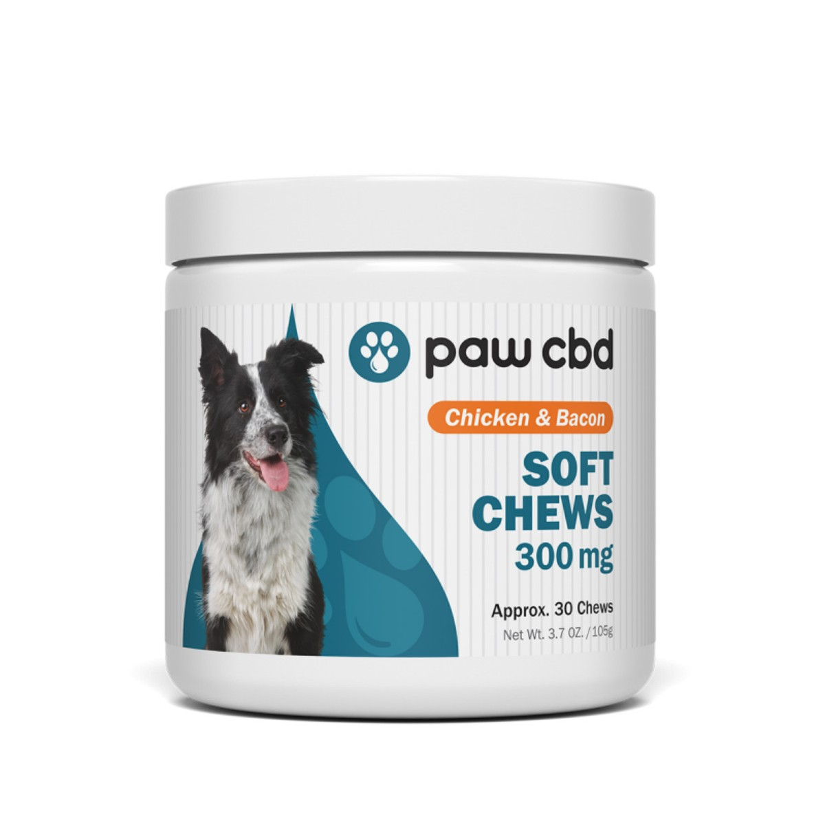 atisfy your dog's appetite with chicken and bacon flavors while serving up natural relief with premium CBD.