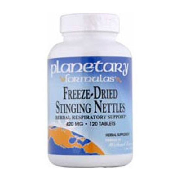 Freeze-Dried Stinging Nettles Tablets by Planetary Herbals.