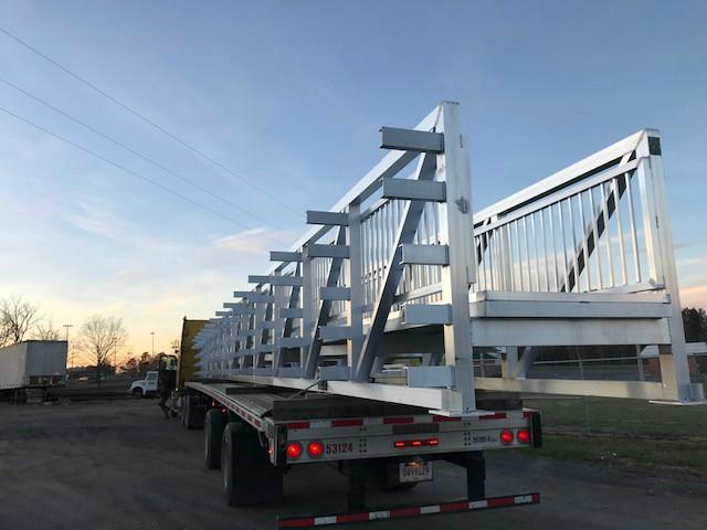 Utility Pipe Bridge or Utility Pipe Catwalk