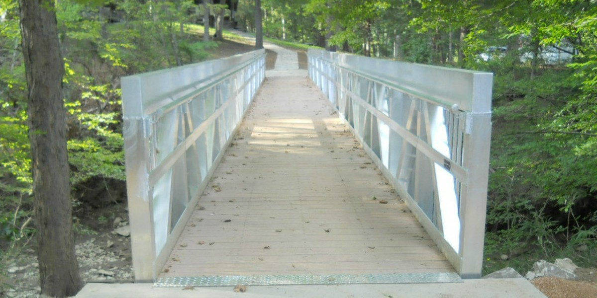 Liberty Bridges: Utility and Pipe Pedestrian Bridges