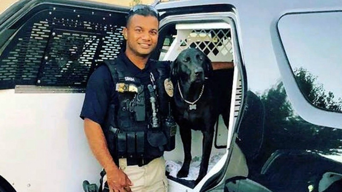 officer Ronil Singh of Newman Police Department