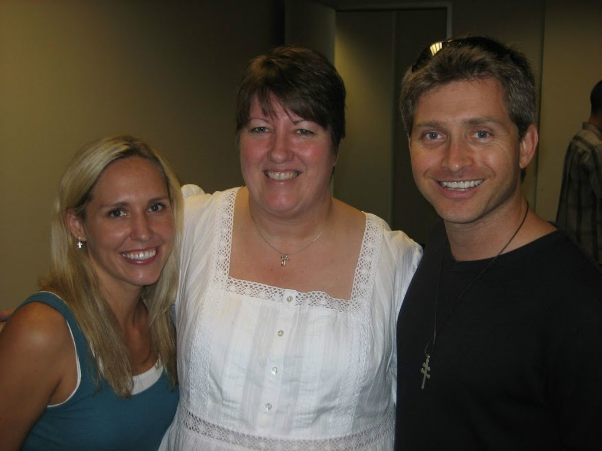 Rob and Tara Sivulka with Renae Grigsby