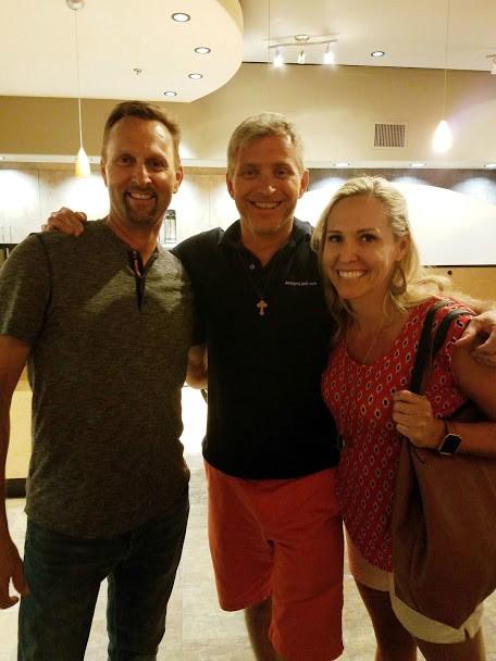 Todd with Rob and Tara